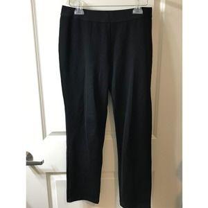 Uniqlo Women's Medium Ponte Slim Pants Black